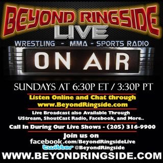 Beyond Ringside Sports Radio - October 27, 2019