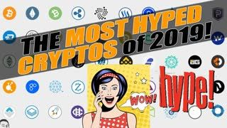 TOP 25+ MOST HYPED CRYPTOCURRENCIES of 2019 using TWITTER! 20 NEW COINS LOADED into #YENIQ!