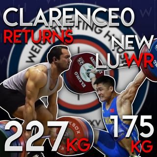 Lu Xiaojun Unofficial WR, and Clarence Kennedy Reclaims his 0
