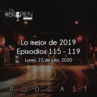Lo mejor de 2019 - Episodios 115 al 119