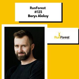 Borys Aleksy, redaktor naczelny magazynszosa.pl w RunForest Podcast #123