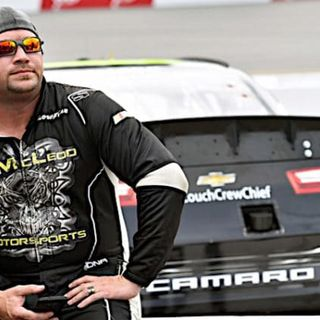 Off The Track:Special Guest NASCAR Driver B.J.McLeod