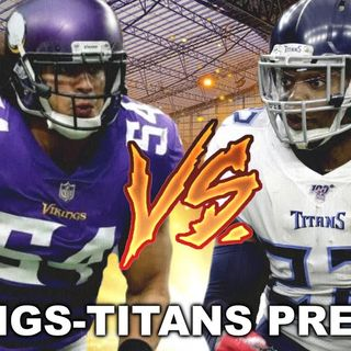 Purple People Eaters: Vikings vs. Titans Preview! Can Vikings Slow Down Henry?