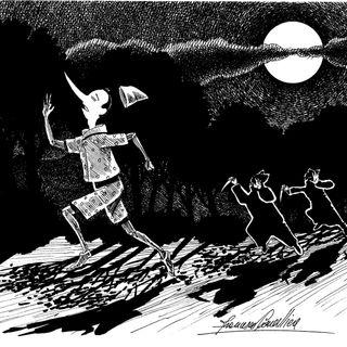 PINOCCHIO capitolo 14 - Gli assassini!