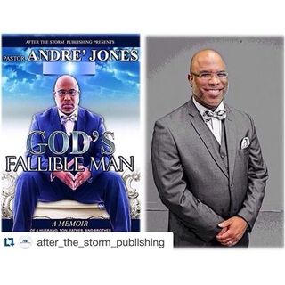 Author Andre Jones discusses #GodsFallibleMan on #ConversationsLIVE