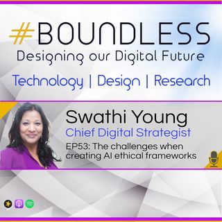 EP53: Swathi Young, Chief Digital Strategist: The challenges when creating AI ethical frameworks