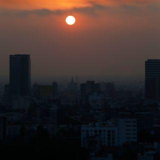 Persiste la mala calidad de aire en la CDMX