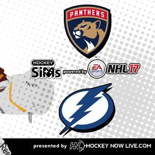 Lightning vs Panthers (NHL 17 Hockey Sims)