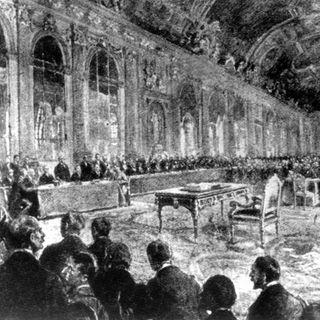 Friedensvertrag von Versailles unterzeichnet (am 28.06.1919)