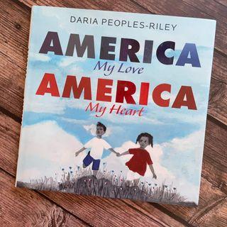 Daria Peoples Riley Releases The Book America My Love America My Heart
