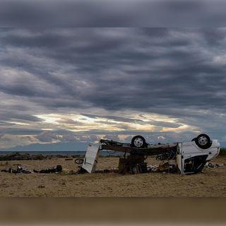 Paso de tornado en Grecia deja saldo fatal