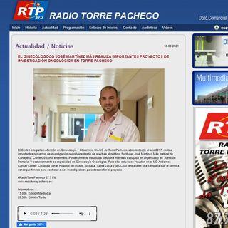 2021-02-10 ENTREVISTA radio Torre Pacheco