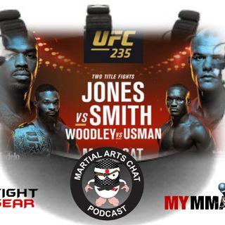 UFC 235 LIVE