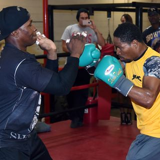 RINGSIDE BOXING SHOW Shawn and Kenny Porter map their journey back to the top