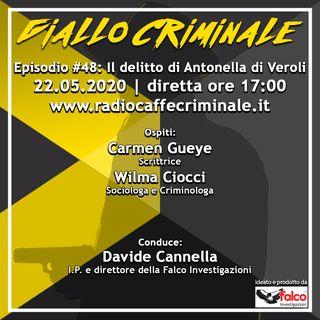 #48 Ep. | Il Delitto di Antonella Di Veroli