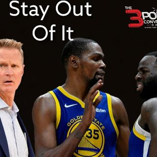 The 3 Point Conversion Sports Lounge - KD & Draymond Green, NBA Schedule, NFL Rookies To Watch, Yankees & Braves Sizzling