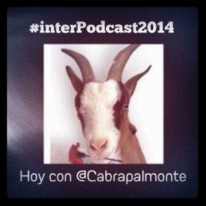 #interPodcast2014 @Cabrapalmonte