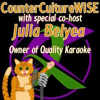 Quarantined Co-host Julia!
