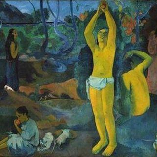 Café Bleu - Monday ART Motivation -  i colori di Gauguin