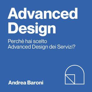 Andrea, iscritta al 1°anno di Advanced Design dei Servizi Università di Bologna