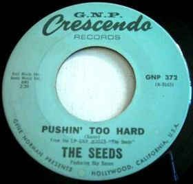 The Seeds - Pushin' Too Hard - Time Warp Song of The Day