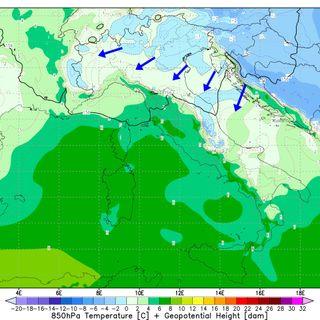 Previsioni meteo 26-28/02, venerdì ancora con caldo fino a 20°. Da sabato un calo