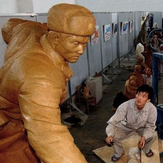 North Korea's Growing Statue & Monument Business