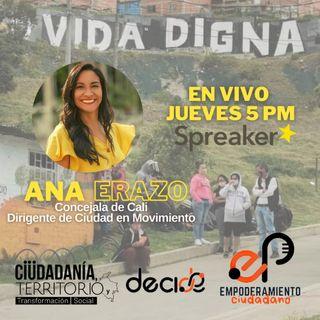 Conversando con Ana Erazo