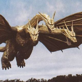 King Ghidorah 1991 Suit Heisei/ Super Kaiju Nation Episode 4