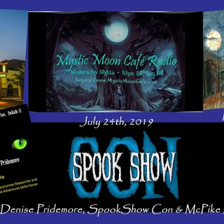 Denise Pridemore on the SpookShow