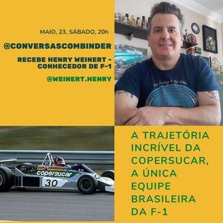 A trajetória da única escuderia brasileira da Fórmula 1 com Henry Weinert