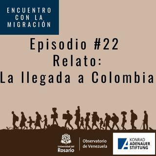 La llegada a Colombia