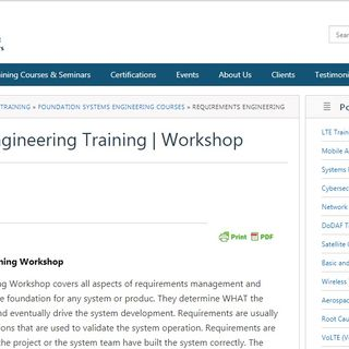 Requirements Engineering Training Podcast