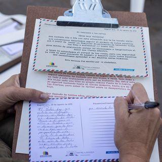 Una maratón de cartas para no olvidar a los desaparecidos