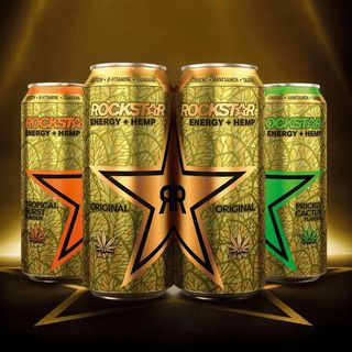 Rockstar Energy + Hemp, il nuovo energy drink alla canapa firmato Pepsi