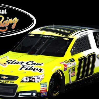 Off The Track:Team Manger Derrike Cope and Driver Jeffery Earnhardt from Star Com Racing