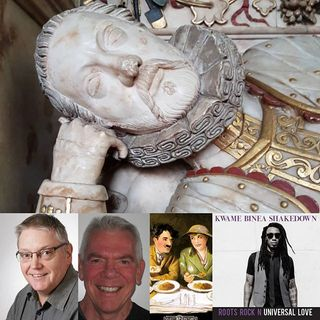 Family History Adventures and Classic Film - Glynn Burrows and Steve Schneickert on Big Blend Radio