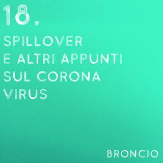 18 - Spillover e altri appunti sul coronavirus