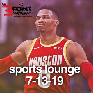 The 3 Point Conversion Sports Lounge- Can Russ & Harden Make It Work, Best NBA Duo, BIG3, MLB Juice Baseballs,