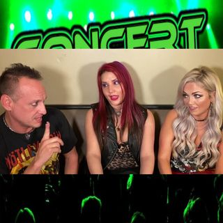 CC hosted by Ric Hare interview with Nikki and Samantha from POISONESS + info on shows & events for Feb 13 - Feb 15 2020