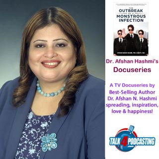 Dr Afshan Hashmi receives Presidential Medal for Volunteerism