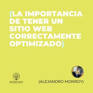 43 - Alejandro Monroy (La importancia de tener un sitio web correctamente optimizado)