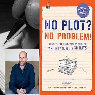 Author Chris Baty talks NaNoWriMo on #ConversationsLIVE