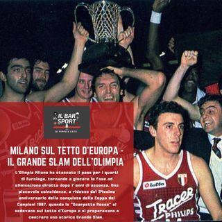 Milano sul tetto d'Europa - Il Grande Slam dell'Olimpia