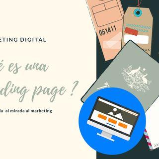 Qué es una landing page?