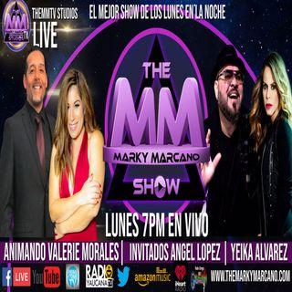 THEMMSHOW INVITADOS LOS CANTANTES ANGEL LOPEZ & YEIKA ALVAREZ EN LA ANIMACION VALERIE MORALES