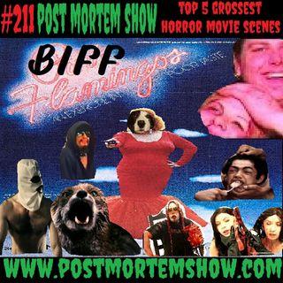 e211 - The Moist Fury Massacre at Biff Fart Lake (Top 5 Grossest Horror Movie Scenes)