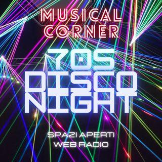 MUSICAL CORNER - 70s Disco Night