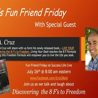 Meet Jesse A. Cruz this week's Fun Friend Friday guest