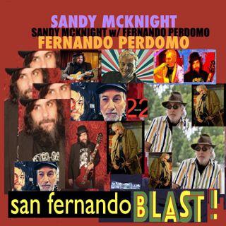 Musician Sandy McKnight - San Fernando Blast Album